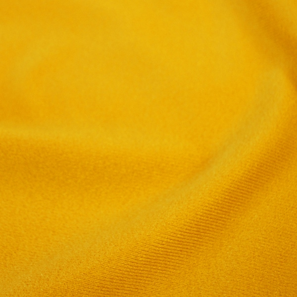 Brushed tricot yellow