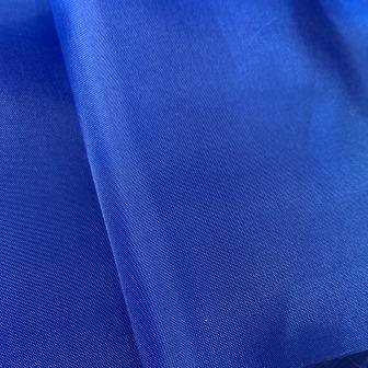 Таффета 190Т — синяя подкладочная ткань